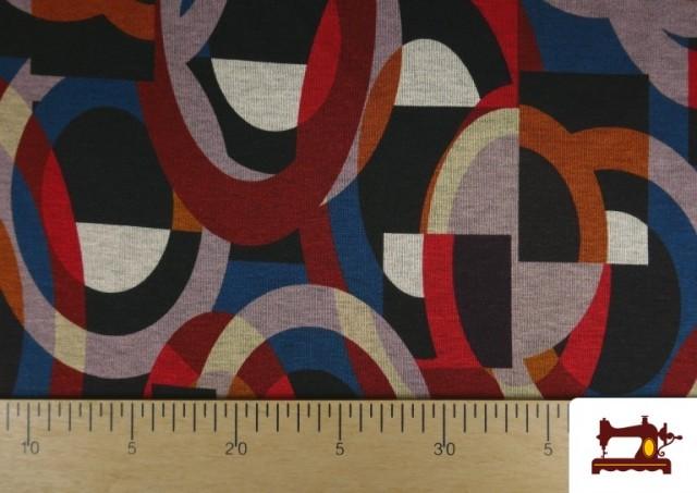 Vente en ligne de copy of Tissu Style PuntRoma avec Imprimé Gris