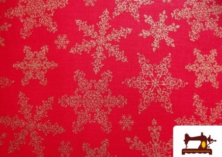 Tissu Fat Quarter Imprimé Décoration de Noël Étoiles pour Patchwork