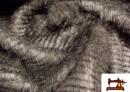 Acheter Tissu à Poil Imitation Peau Naturelle Tacheté