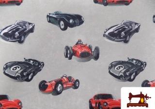 Comprar tela de Sudadera de coches antiguos