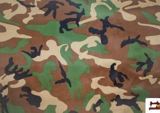 Tissu de Canvas Militaire