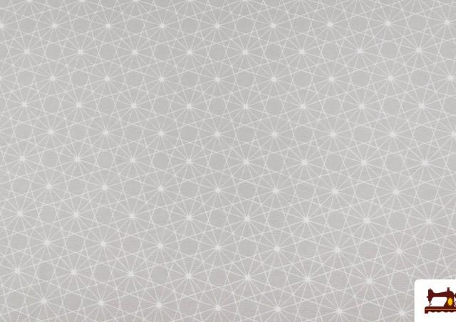 Tissu Imprimé avec Dessin Géométrique