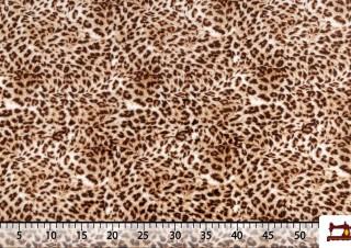 Tissu Polaire Imprimé Animal