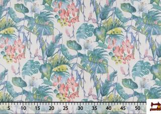Tissu Imprimé Floral Multicolore
