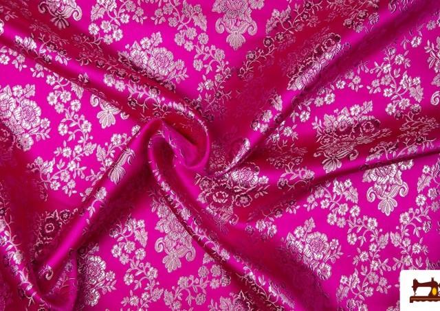 Tissu Simili Vêtement Fallera couleur Argenté