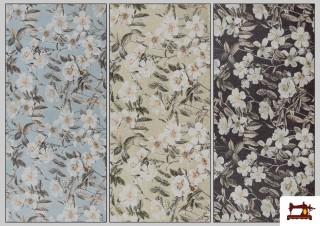 Acheter en ligne Tissu avec Imprimé Floral pour Décoration