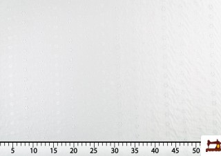 Tissu de Bastite en Coton Brodé