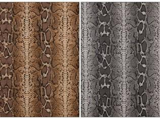 Vente en ligne de Tissu en Canvas Animal Print (serpent)