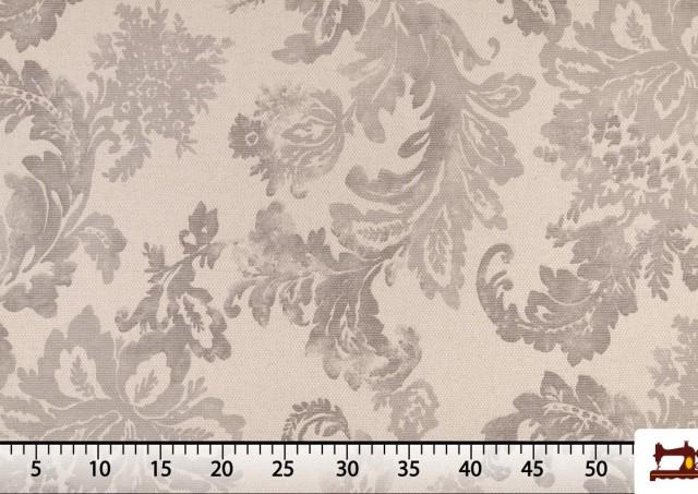 Tissu pour Décoration Imprimé Classique Floral