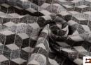 Tissu Chenille en Velours couleur Gris foncé
