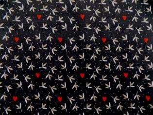 Tissu en Coton Imprimé avec Fleurs