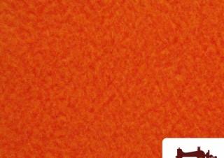 Tissu à Poil Court Orange pour Costume Fantaisie
