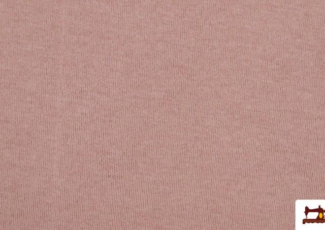 Acheter Tissu en Sweat aux Couleurs Pastel couleur Rose avec Nuances