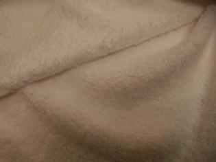 Tissu Bouclé en Coton Américain Blanc