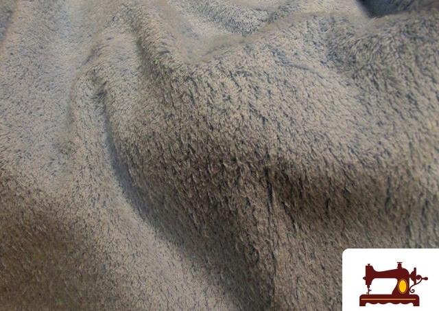 Tissu avec Boucle Américaine en Coton pour Serviettes Bleues