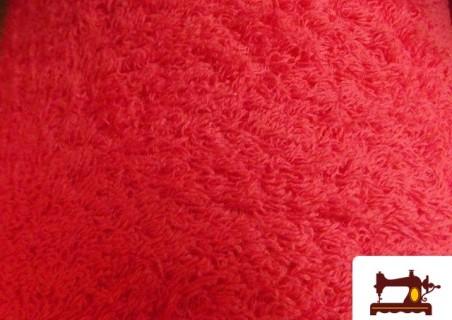 Tissu Pour Serviettes avec Boucle Américaine couleur Rouge