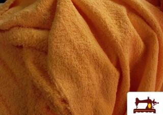 Tissu pour Serviettes avec Boucle Américaine Orange