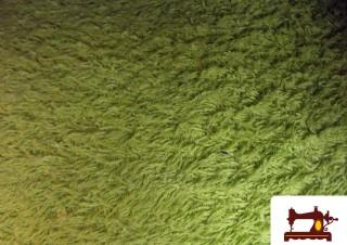 Tissu pour Serviettes avec Boucle Américaine, 100% Coton Couleur Pistache