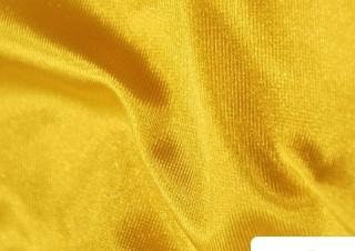 Tissu pour Serviettes avec Boucle Américaine Couleur Jaune Intense
