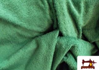 Tissu pour Serviettes avec Boucle Américaine Couleur Vert Bouteille