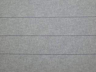 Tela de Cortina a Rayas Caladas acabado cinta de Plomo