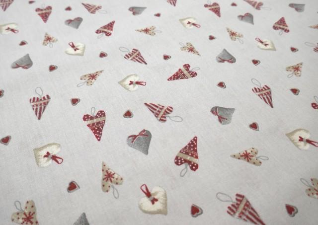 Acheter Tissu Beige pour Décoration Noël couleur Gris clair
