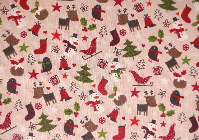 Acheter Tissu de Noël avec Arbres