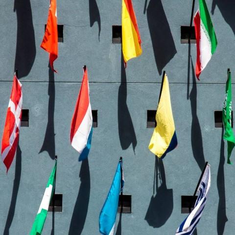 Tissu de drapeau