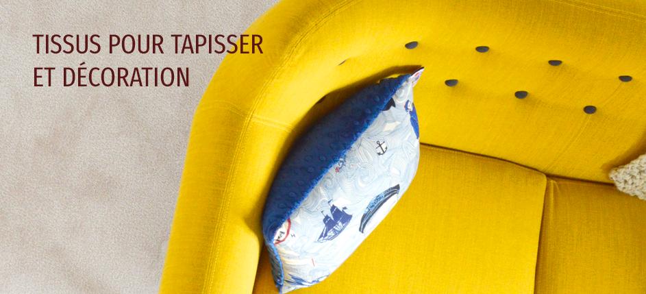 Tissu pour Tapisser et Décoration